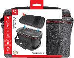 Media Markt PDP LLC Konsolen-Tasche Elite Pull-N-Go für Nintendo Switch, grau Tasche für Nintendo Switch, Grau