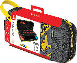 Media Markt PDP LLC Konsolen-Tasche Elite Deluxe Pikachu für Nintendo Switch Tasche für Nintendo Switch, Grau