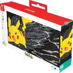 Media Markt PDP LLC Konsolen-Tasche Travel Pikachu Greyscale Tasche für Nintendo Switch, Schwarz