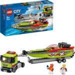 Media Markt Ingolstadt LEGO 60254 Rennboot-Transporter Bausatz, Mehrfarbig