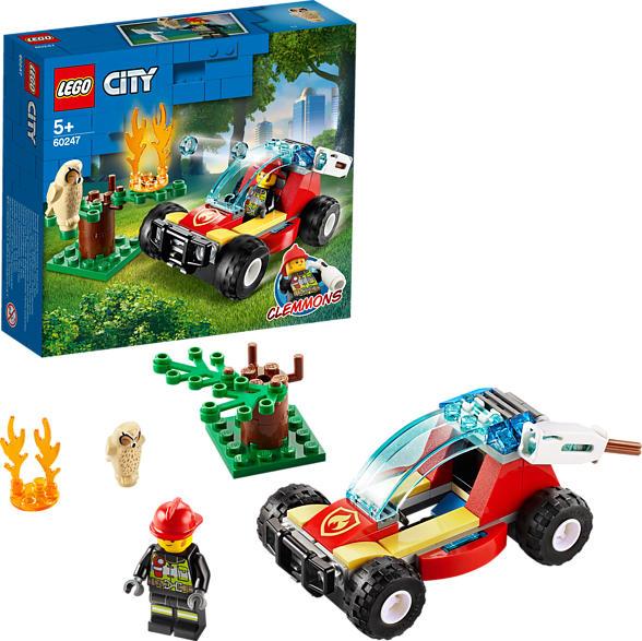 LEGO 60247 Waldbrand Bausatz, Mehrfarbig