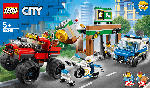 MediaMarkt LEGO 60245 Raubüberfall mit dem Monster-Truck Bausatz, Mehrfarbig