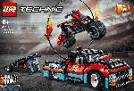 MediaMarkt LEGO 42106 Stunt-Show mit Truck und Motorrad Bausatz, Mehrfarbig