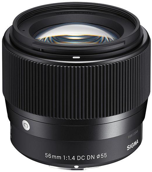 SIGMA Contemporary 56 mm f./1.4  (Objektiv für Canon M-Mount, Schwarz)