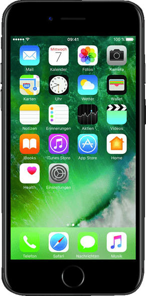 B-WARE (*) APPLE iPhone 7 Smartphone, Schwarz