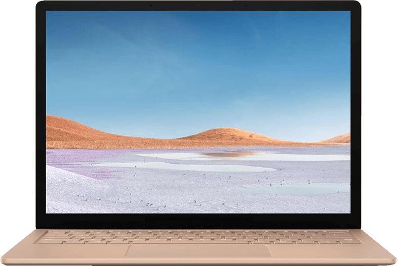 MICROSOFT Surface Laptop 3, Notebook mit 13.5 Zoll Display, Core™ i5 Prozessor, 8 GB RAM, 256 GB SSD, Intel® Iris™ Plus Grafik, Sandstone