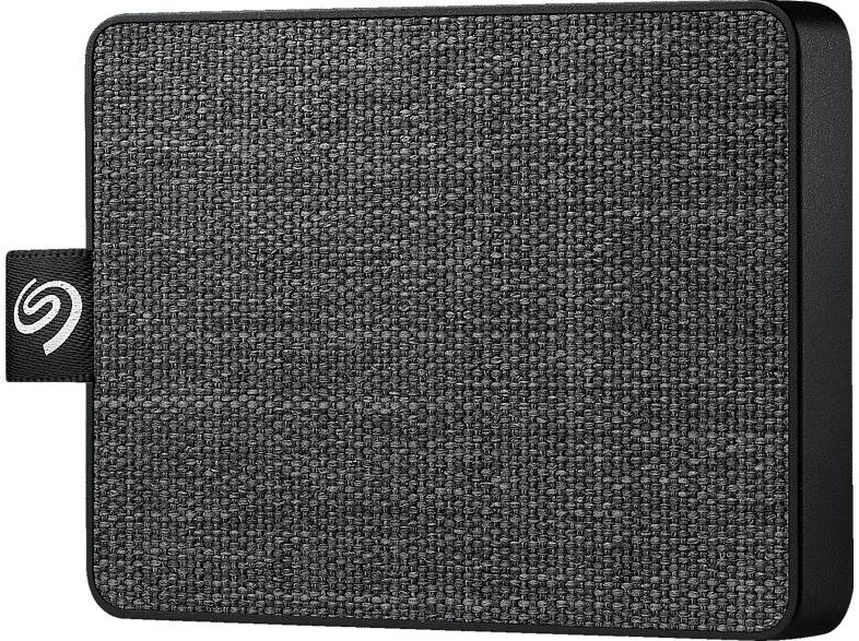 SEAGATE One Touch SSD, 500 GB SSD, extern, Schwarz