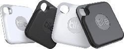 TILE Pro+ (4-pack) Bluetooth Tracker, Schwarz/Weiß