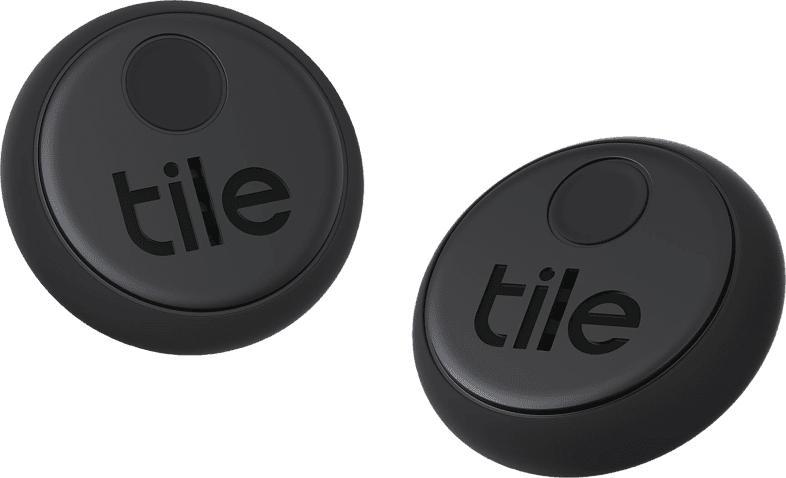 TILE Sticker (2-pack) Bluetooth Tracker, Schwarz