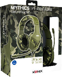KONIX Mythics - PS-400 Camouflage Gaming Headset, Camouflage