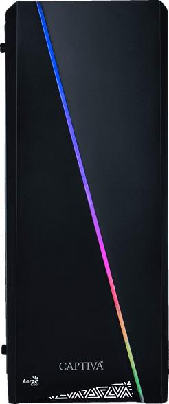 CAPTIVA R51-794, Gaming PC mit Ryzen 5 Prozessor, 16 GB RAM, 480 GB SSD, 1 TB HDD, RTX 2070 SUPER, 8 GB