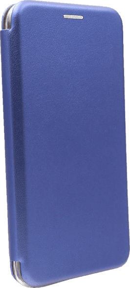 AGM 29319 , Bookcover, Apple, iPhone 11 Pro Max, Obermaterial Kunstleder, Stoff, Thermoplastisches Polyurethan, Marineblau