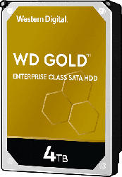 WD Gold™ Festplatte, 4 TB HDD, 3.5 Zoll, intern