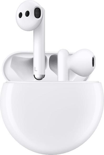 HUAWEI FreeBuds 3, In-ear True-Wireless-Kopfhörer Bluetooth Ceramic White