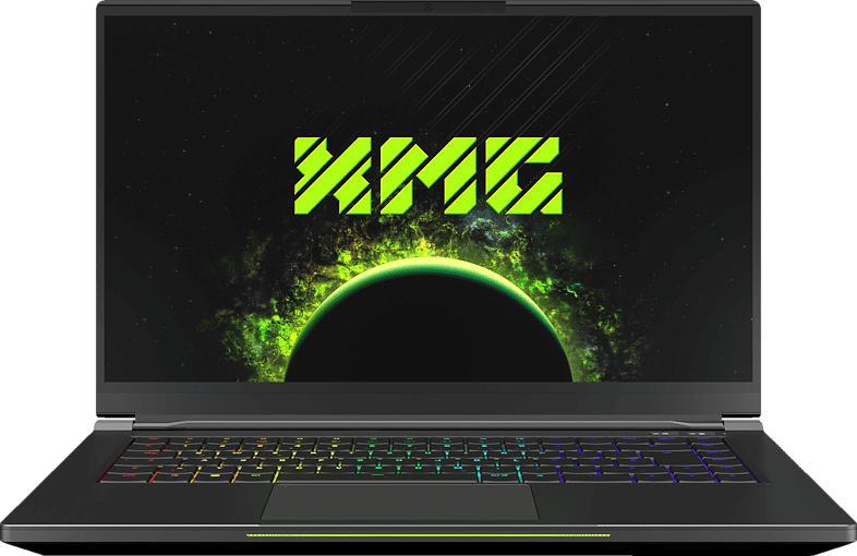 XMG FUSION 15 - L19hgr, Gaming Notebook mit 15.6 Zoll Display, Core™ i7 Prozessor, 16 GB RAM, 500 GB SSD, NVIDIA GeForce RTX 2070 Max-Q  8 GB GDDR6, Schwarz