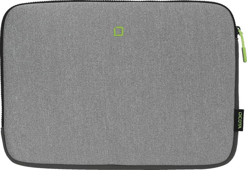 DICOTA Skin FLOW Notebooktasche, Sleeve, Grau/Grün