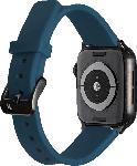MediaMarkt ARTWIZZ 4750-2961 Watchband Sili, Ersatzarmband, Apple, Watch Series 1-3 42 mm, Watch Series 4-5 44 mm, Nordic Blau