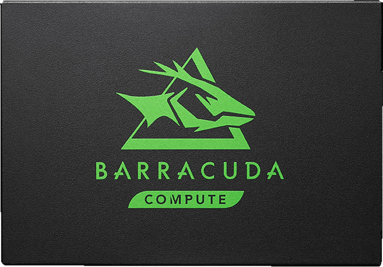 SEAGATE BarraCuda, 250 GB SSD, NAND Flash, 2.5 Zoll, intern