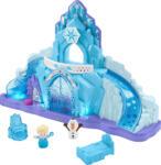 Media Markt FISHER PRICE Little People Frozen Elsas Eispalast Spielset, Mehrfarbig