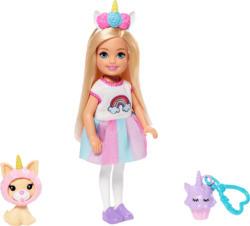BARBIE Chelsea Einhorn-Kostüm Puppe Spielzeugpuppe