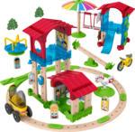 Media Markt FISHER PRICE Wunder Werker Schule mit Spielplatz, Baukasten, Konstruktions-Spielzeug Spielset, Mehrfarbig