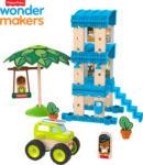 Media Markt FISHER PRICE Wunder Werker Strandbungalow, Baukasten, Konstruktions-Spielzeug Bausatz, Mehrfarbig