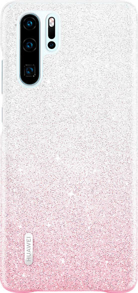 HUAWEI VOGUE Glamorous Case , Backcover, Huawei, P30, Polycarbonat (PC) , Rosa/ Weiß