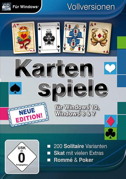 KARTENSPIELE FÜR WINDOWS 10 - NEUEEDITION [PC]