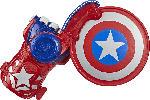 Media Markt HASBRO NERF Disc-Abschuss Spielzeug Captain America Schild Abschuss-Spielzeug, Rot/Blau