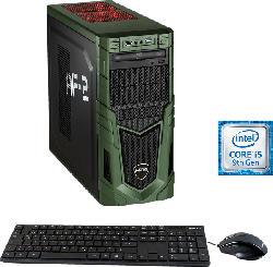 HYRICAN MILITARY GAMING 6481, Gaming PC mit Core™ i5 Prozessor, 16 GB RAM, 480 GB SSD, 1 TB HDD, Geforce GTX 1650 SUPER, 4 GB