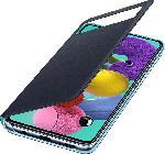 MediaMarkt SAMSUNG EF-EA515 , Bookcover, Samsung, Galaxy A51, Polyurethan, Polycarbonat, Schwarz