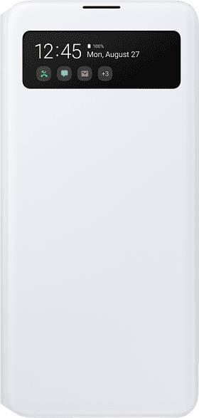 SAMSUNG EF-EA515 , Bookcover, Samsung, Galaxy A51, Polyurethan, Polycarbonat, Weiß