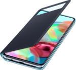 MediaMarkt SAMSUNG EF-EA715 , Bookcover, Samsung, Galaxy A71, Polyurethan, Polycarbonat, Schwarz