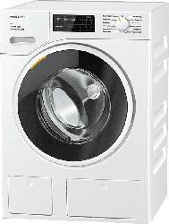 MIELE WWG 669 WCS D LW BLACK & WHITE W1 White Edition Waschmaschine (9 kg, 1600 U/Min., A+++)