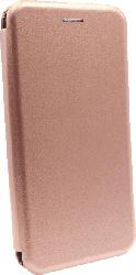 AGM 29961 Bookcover Xiaomi Mi Note 10 Pro Obermaterial Kunstleder, Stoff, Thermoplastisches Polyurethan Roségold