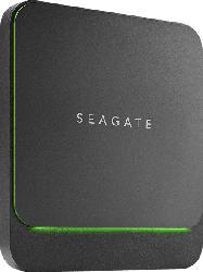 SEAGATE BarraCuda Fast SSD, 500 GB SSD, extern, Schwarz
