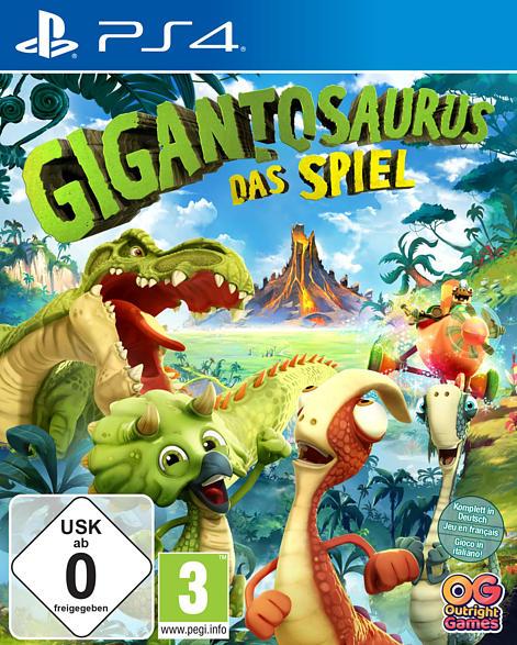 PS4 GIGANTOSAURUS-DAS VIDEOSPIEL [PlayStation 4]