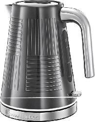 RUSSELL HOBBS 25240-70 Geo Steel Wasserkocher, Edelstahl/Schwarz