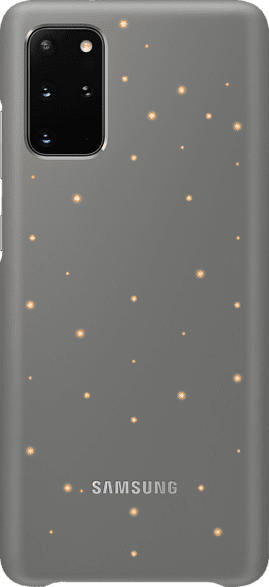 SAMSUNG LED Cover , Backcover, Samsung, Galaxy S20+, Kunststoff, Grau