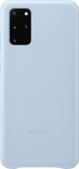 SAMSUNG Leather Cover , Backcover, Samsung, Galaxy S20+, Echtleder, Sky Blue