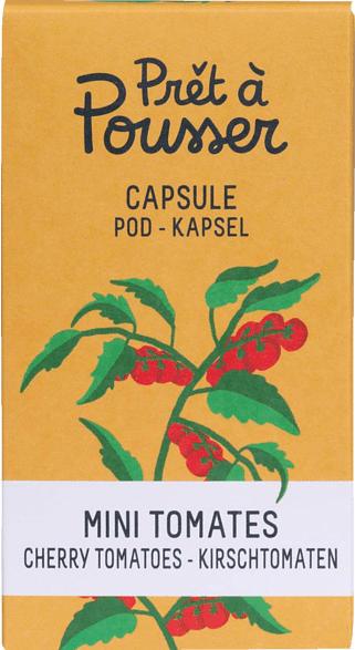 PRET A POUSSER 150874 Kirschtomate Pflanzenkapsel