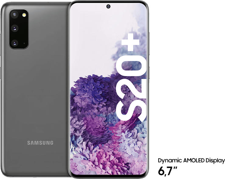 SAMSUNG Galaxy S20+ 128 GB Cosmic Grey Dual SIM