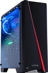CAPTIVA Highend Gaming R52-831, Gaming PC mit Ryzen 7 Prozessor, 16 GB RAM, 240 GB SSD, 1 TB HDD, Radeon RX 5700 XT, 8 GB