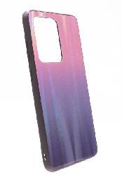 AGM 30140 Glascase Polar , Backcover, Samsung, Galaxy S20+, Gehärtetes Glas, Thermoplastisches Polyurethan, Pink