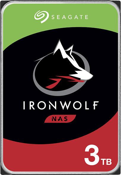 SEAGATE IronWolf, 3 TB HDD, 3.5 Zoll, intern
