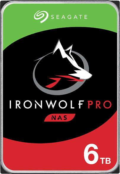 SEAGATE IronWolf Pro NAS, 6 TB HDD, 3.5 Zoll, intern