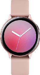 SAMSUNG  Galaxy Watch Active2 44 mm LTE Smartwatch Aluminium, Fluorkautschuk-Armband, M/L, Pink Gold