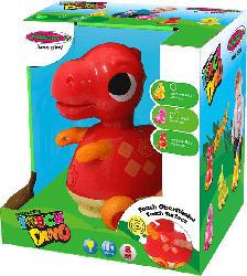 JAMARA Interactive Touch Dino Tyrannosaurus rex Spielzeugdino, Rot
