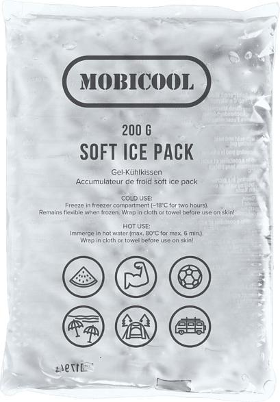 MOBICOOL SOFT ICE PACK 200 Kühlkissen (, Transparent)