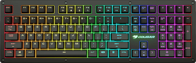 COUGAR PURI RGB (RED SWITCH), Gaming Tastatur, Mechanisch